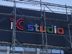 ステンレスチャンネル文字の製作及び設置 神奈川県相模原市