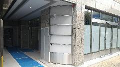 壁面看板(ステンレス製)の製作・設置 神奈川県藤沢市