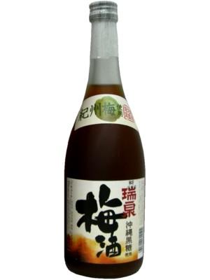 瑞泉 沖縄黒糖使用 梅酒 12°720ml