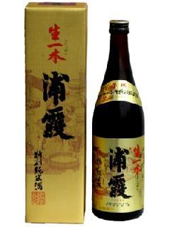 浦霞 生一本 特別純米酒 720ml