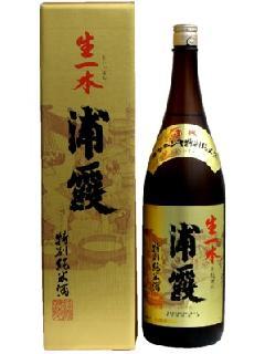 浦霞 生一本 特別純米酒 1.8L
