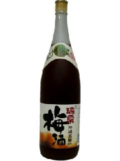 瑞泉 沖縄黒糖使用 梅酒 12°1.8L