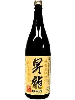 昇龍 昇り龍 黒糖25°1.8L