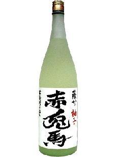 赤兎馬 ゆず酒 10°1800ml