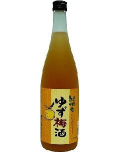 中野BC ゆず梅酒 12°720ml