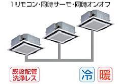 東芝 天井カセット形4方向吹出しタイプ AUEC22455M