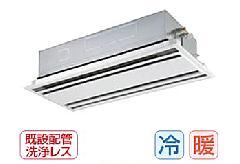 東芝 天井カセット形2方向吹出しタイプ AWEA08055M
