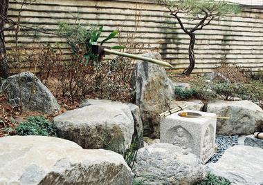 載和園庭園(韓国・都載旭内科日本庭園)