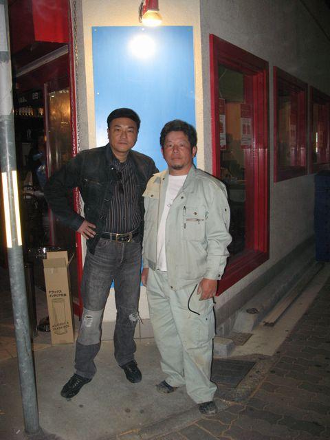 店舗をプロデュースした北野誠氏と撮影