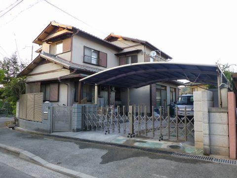 駐車場の拡張  (3台駐車 自宅兼事務所外構 門屋解体 大谷ブロック沈下)茨木市