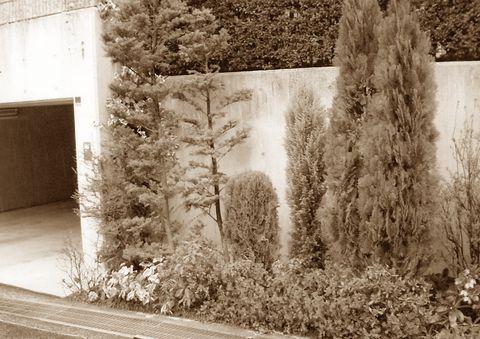 外構・造園トータルリフォーム  (アイアンアーチ インド砂岩 小端積 サークルベンチ)箕面