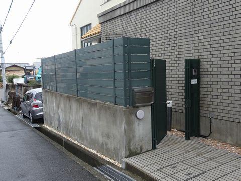 樹脂板横張り塀の隙間について モクプラボード マイティーウッド