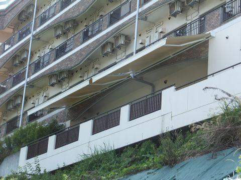 大型電動オーニング(3.5間幅) 談話スペース 日光浴 堺市南区