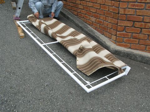 庇として外壁を保護