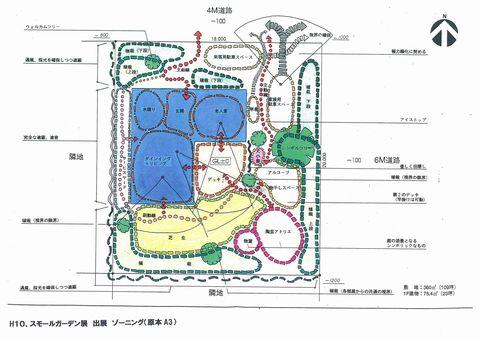 外構のゾーニング  (外構導線計画 サーキュレーション 一級建築士)