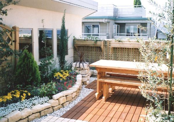屋上ガーデン(大和ハウス、モデルハウス)