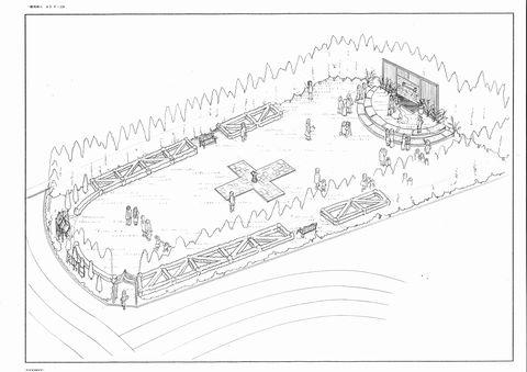 ベイエリア ガーデンウェディングプレイス イメージスケッチ