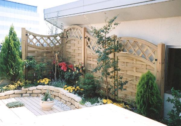 ベランダ・屋上ガーデン  豊かな経験に基づくデザインならアーテック・にしかわ