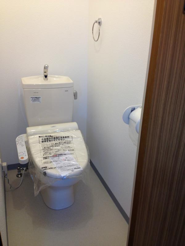 トイレ改装工事(和式から洋式)