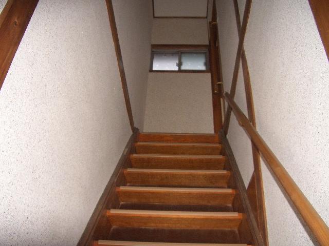 階段‐改装後