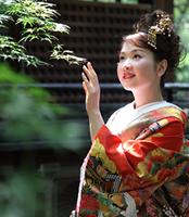日本の美しさをウェディング写真に込める