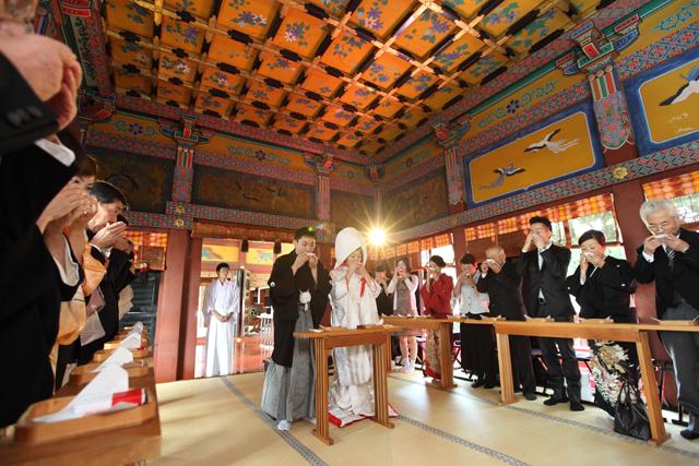 浅草神社 親族固めの盃