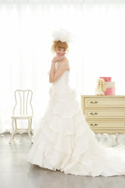 ウェディングドレス(レンタル) Dolly B.15