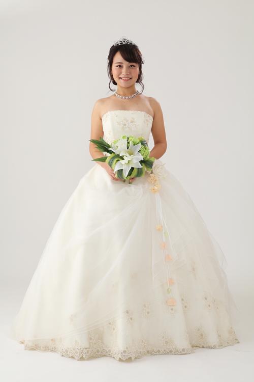 d25456650706b ウェディングドレス HJA-3415F|ウェディングドレスのレンタルなら大阪 ...