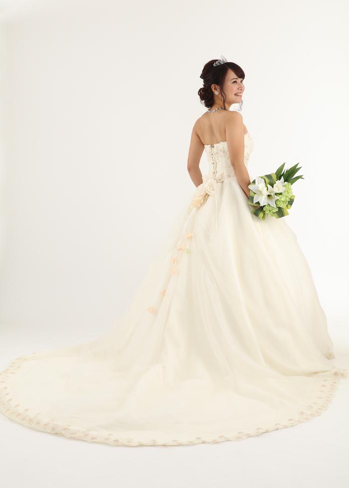 ウェディングドレス HJA-3415F レンタル