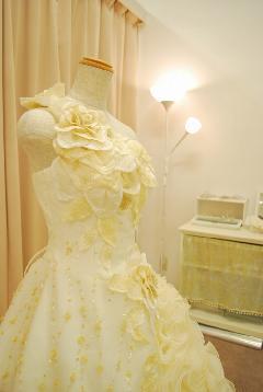 ウェディングドレス YU-8203F