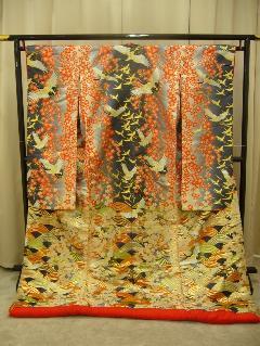 枝垂桜鶴の舞