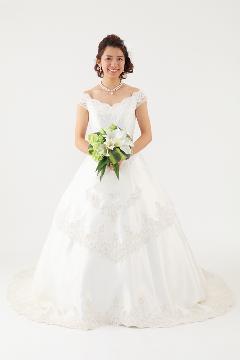 ウェディングドレス セザンヌ