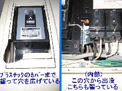 一般住宅 ネズミ駆除施工 (東京都 板橋区)