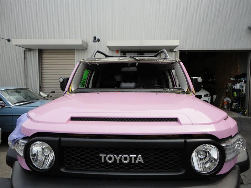 フロントガラス交換 トヨタ:FJクルーザー