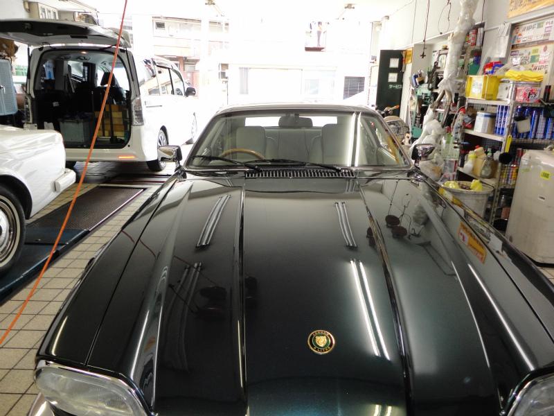 フロントガラス交換 傷 Jaguar:ジャガー XJ−S