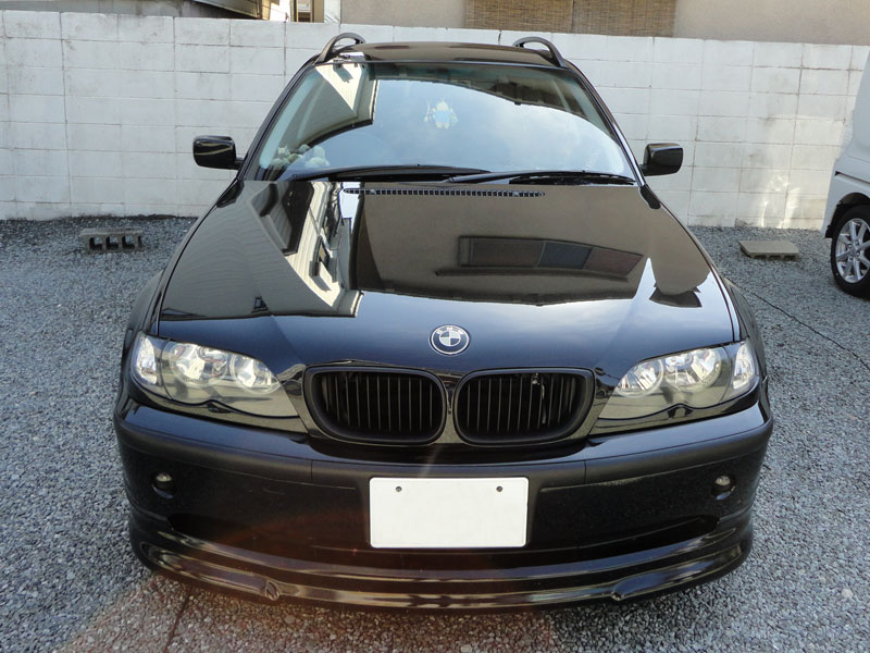 フロントガラス交換 飛び石・傷(ヒビ) BMW E46