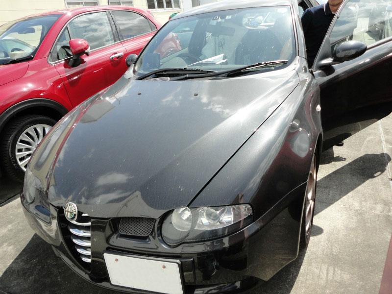フロントガラス交換 飛び石・傷(ヒビ) Alfa Romeo:アルファ ロメオ