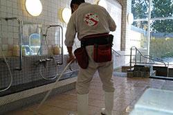 転倒防止の滑り止め剤:SBS・滑り止め施工