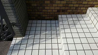 玄関 防滑工事
