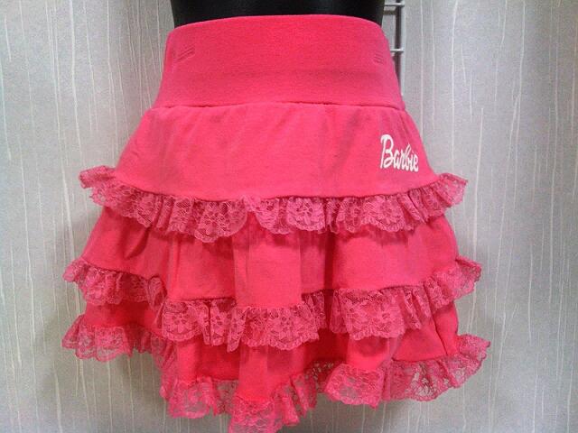 Barbieレーススカート