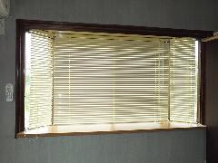 新潟市中央区 出窓のブラインド入れ替え
