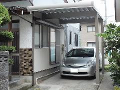 新潟市南区 駐車場カーポート設置工事