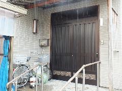 新潟市東区 玄関ドアリフォーム工事
