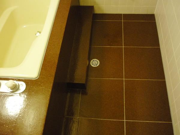 浴室床のリフォーム(栃木県那須町)