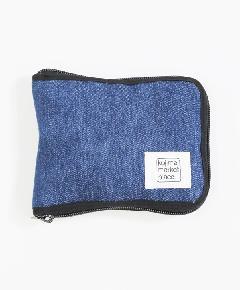 折りたたみバッグ ブルー