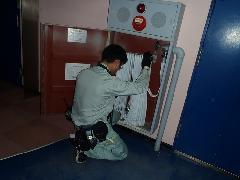 屋内消火栓点検