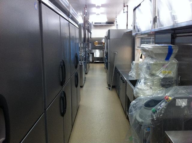 厨房清掃後