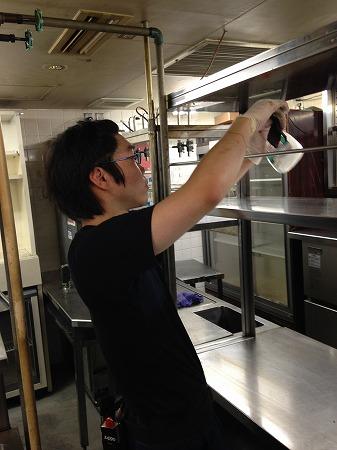 キッチン清掃 東京の店舗