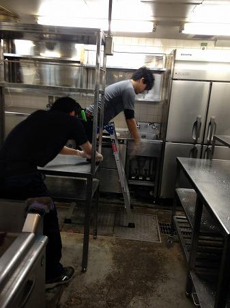 店舗清掃|新宿区内の飲食店