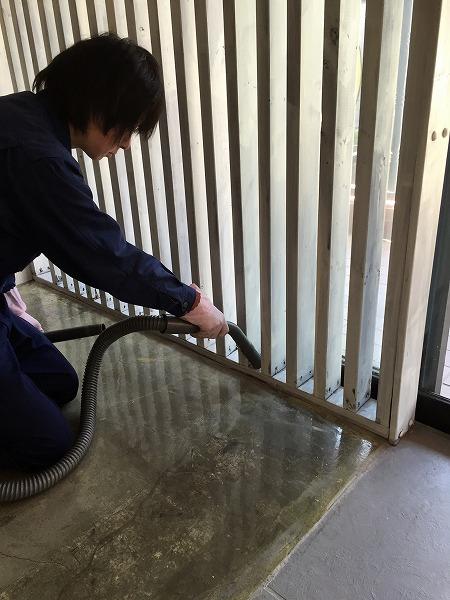 吉祥寺の美容室清掃